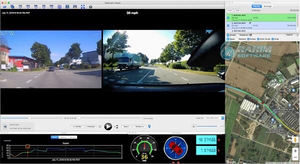 dashcam viewer alternative