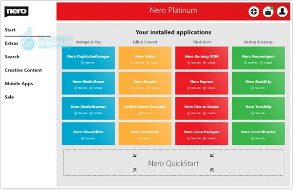 nero platinum 2021 download