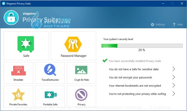 steganos privacy suite 21 review