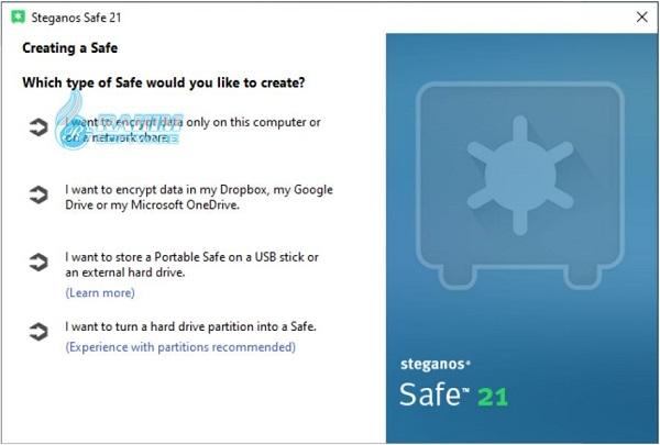 steganos safe free