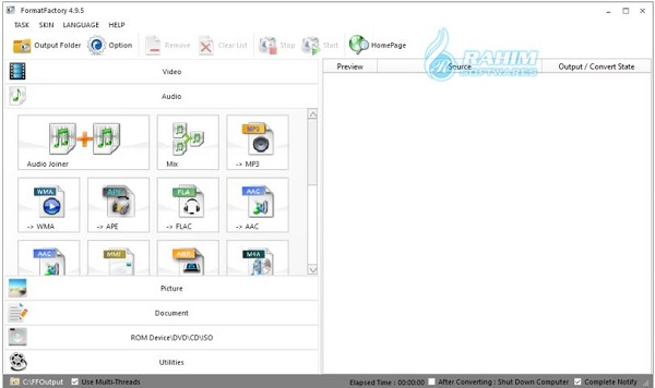 format factory online