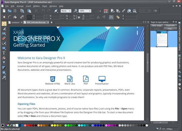 xara photo & graphic designer free download