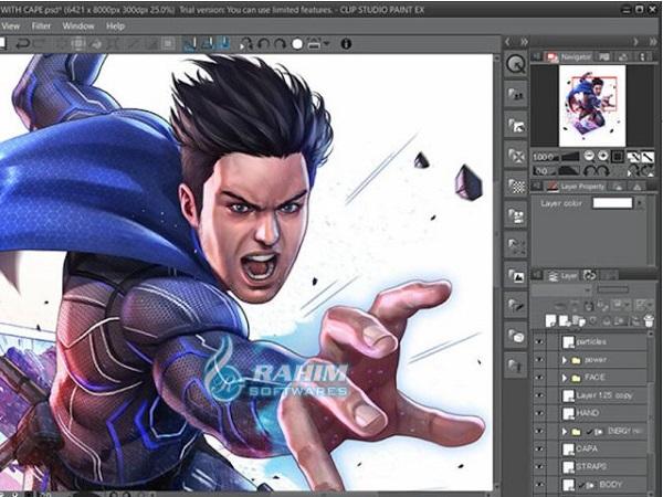 Clip Studio Paint EX install
