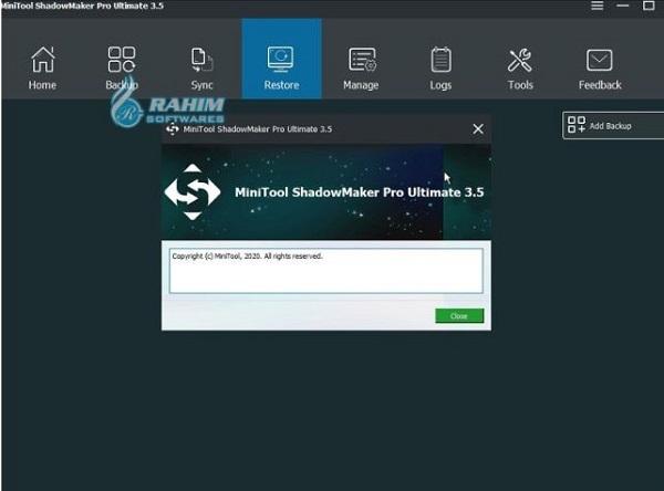 MiniTool ShadowMaker Bootable Edition