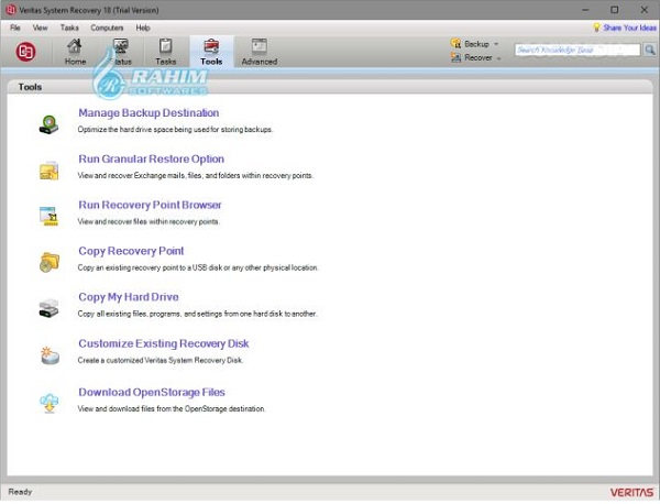 veritas system recovery 21 download