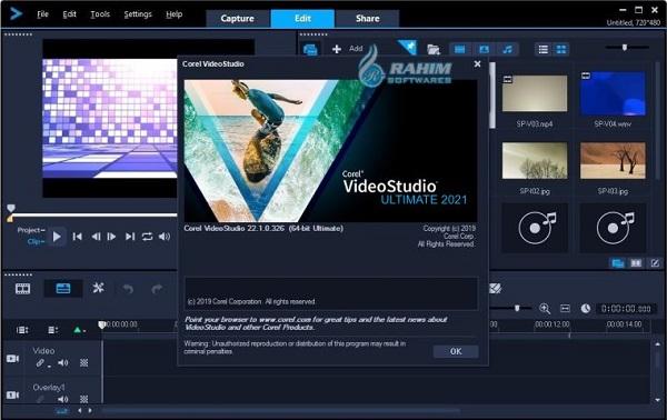corel videostudio ultimate 2021 free download