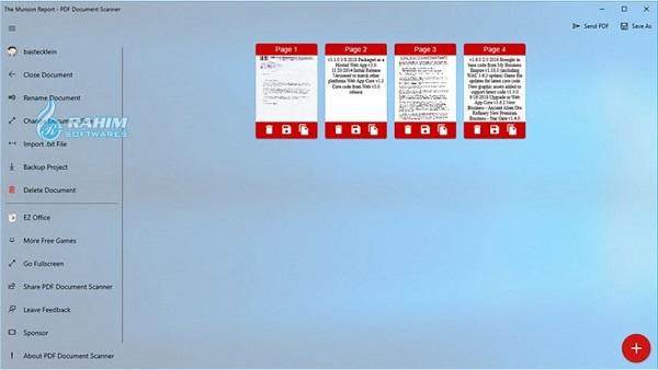 pdf document scanner app