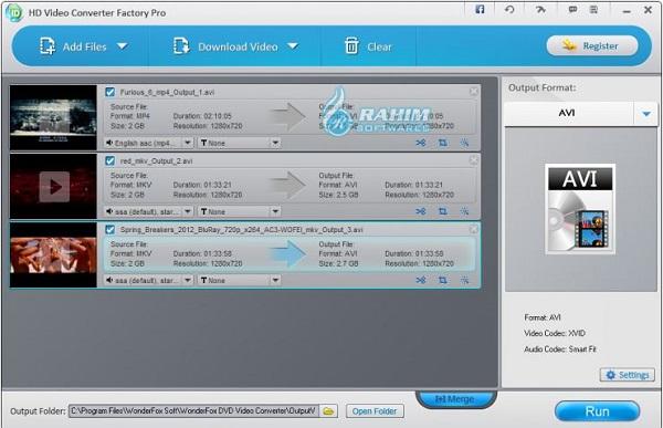 wonderfox hd video converter online