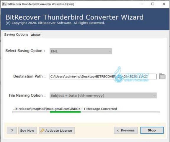BitRecover Thunderbird Converter Wizard Free Download