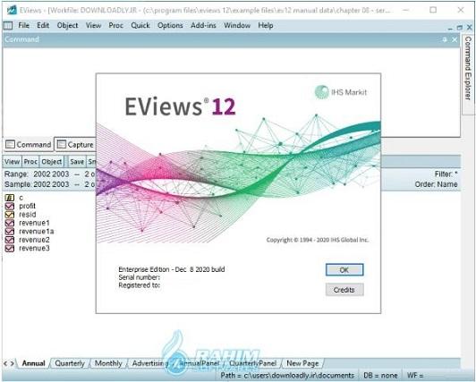 EViews University Edition