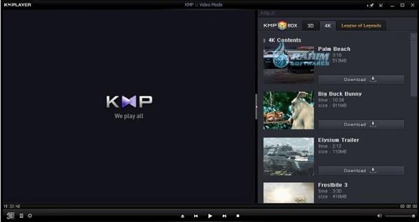 KMPlayer 2021 Free Download 64 Bit