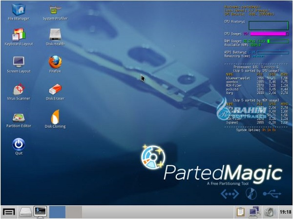 Parted Magic 2021 ISO