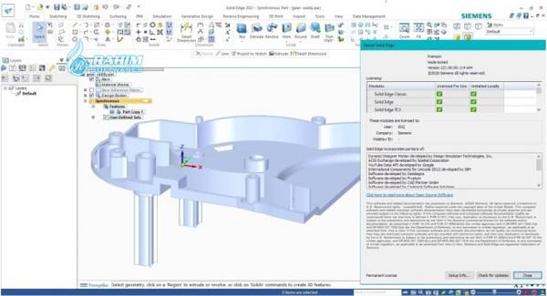 Siemens Solid Edge 2021