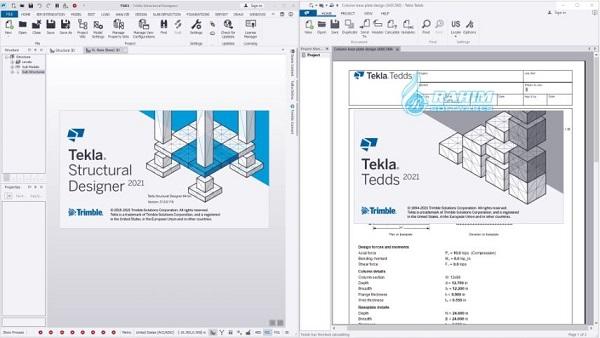 Tekla Structural Design Suite 2021