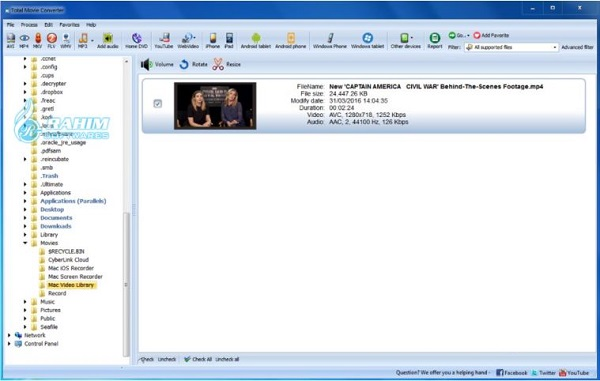 Total audio converter online