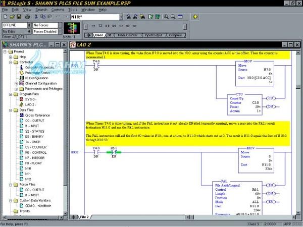 rslogix 5 software