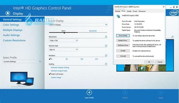 Intel Graphics Driver Windows 10 64-bit