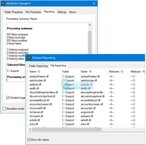 Microsoft Attribute Changer