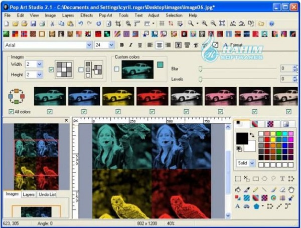 Pop Art Studio software