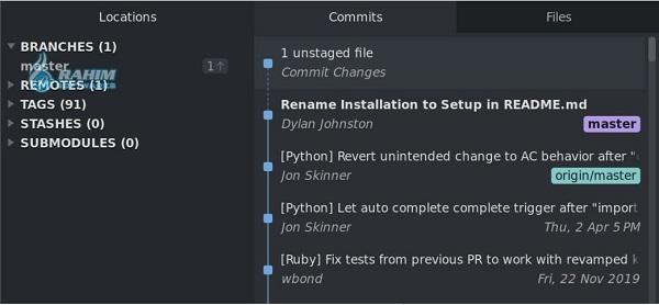 Sublime Merge command line