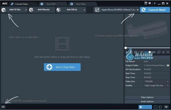Video converter online