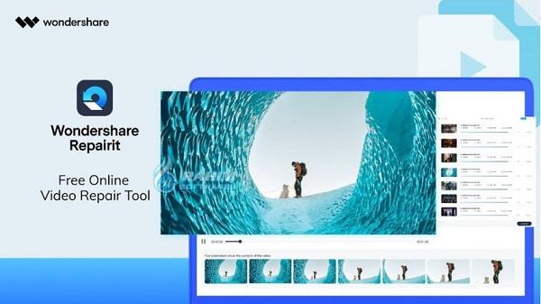 Wondershare video repair online