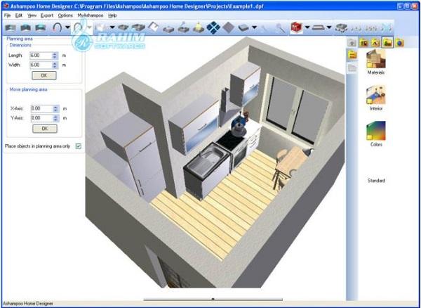 Ashampoo Home Design free download