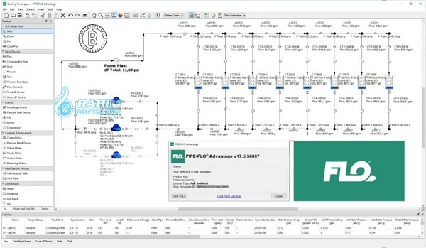 Engineered Software PIPE-FLO pro