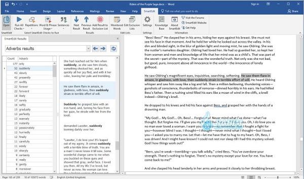 SmartEdit vs Scrivener