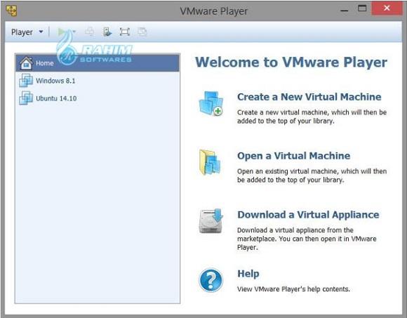 VMware Workstation Player 16 download