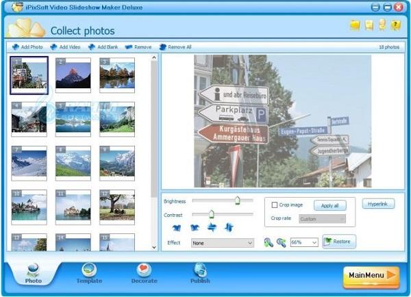 iPixSoft Video Slideshow Maker Deluxe 5