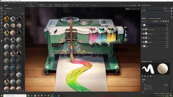 Adobe substance 3d sampler