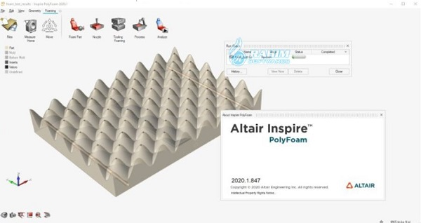 Altair Inspire Extrude Polymer