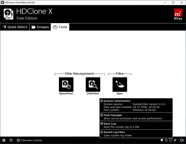 HDClone Free 11