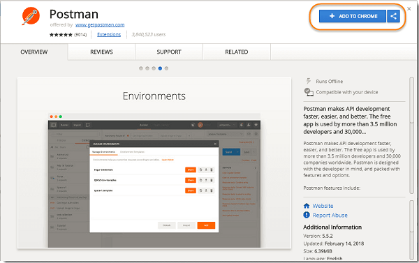 How to use Postman