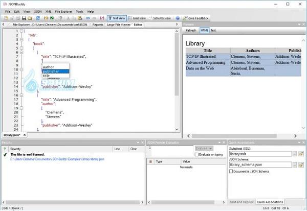 JSON Editor Windows free download