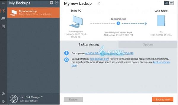 Paragon Hard Disk Manager free download