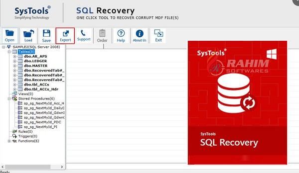 SQL Server MDF file Recovery software