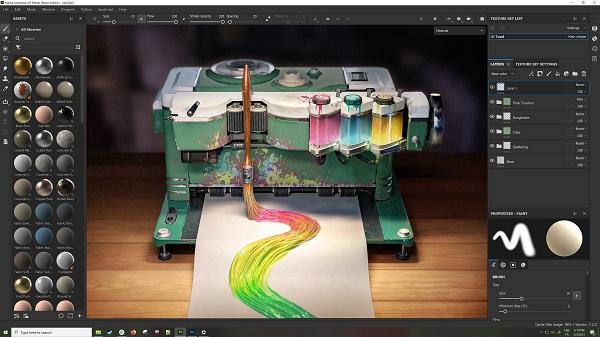 Substance Designer vs Painter