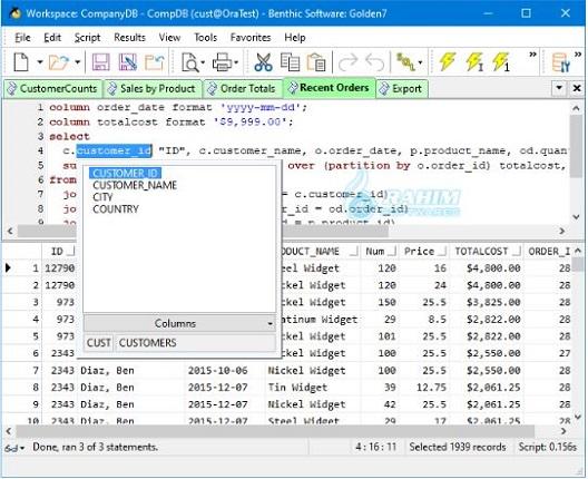Golden Benthic Software free download