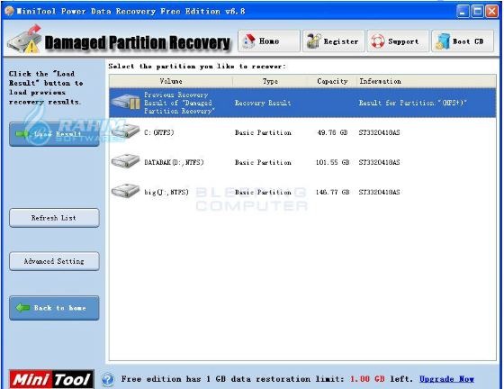 MiniTool Power Data Recovery All Editions