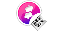 Mobile to PC file transfer QR code