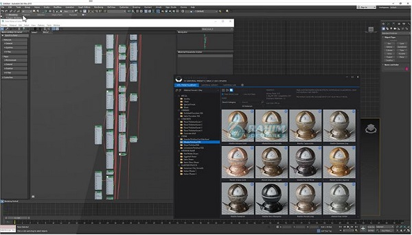 SIGERSHADERS XS Material Presets Studio 3 for 3ds Max 2016-2022