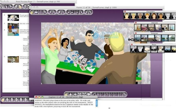 Storyboard software