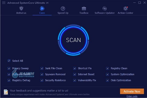 Advanced SystemCare Ultimate 15