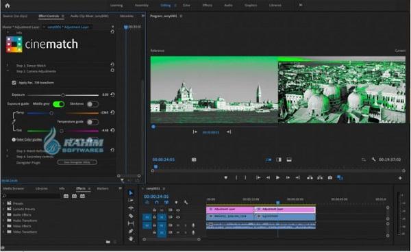 CineMatch for Premiere Pro