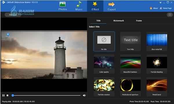 Download GiliSoft SlideShow Maker 12