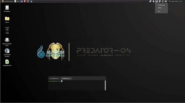 Download predator-OS 20.04