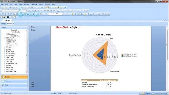 SAP Crystal Reports for Visual Studio