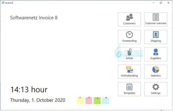 SoftwareNetz Cash Book